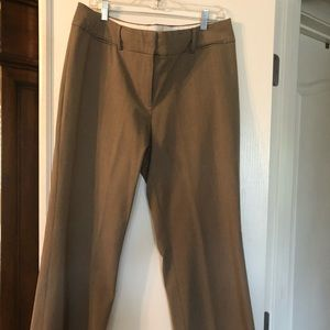 Ann Taylor Loft Light Brown Pants